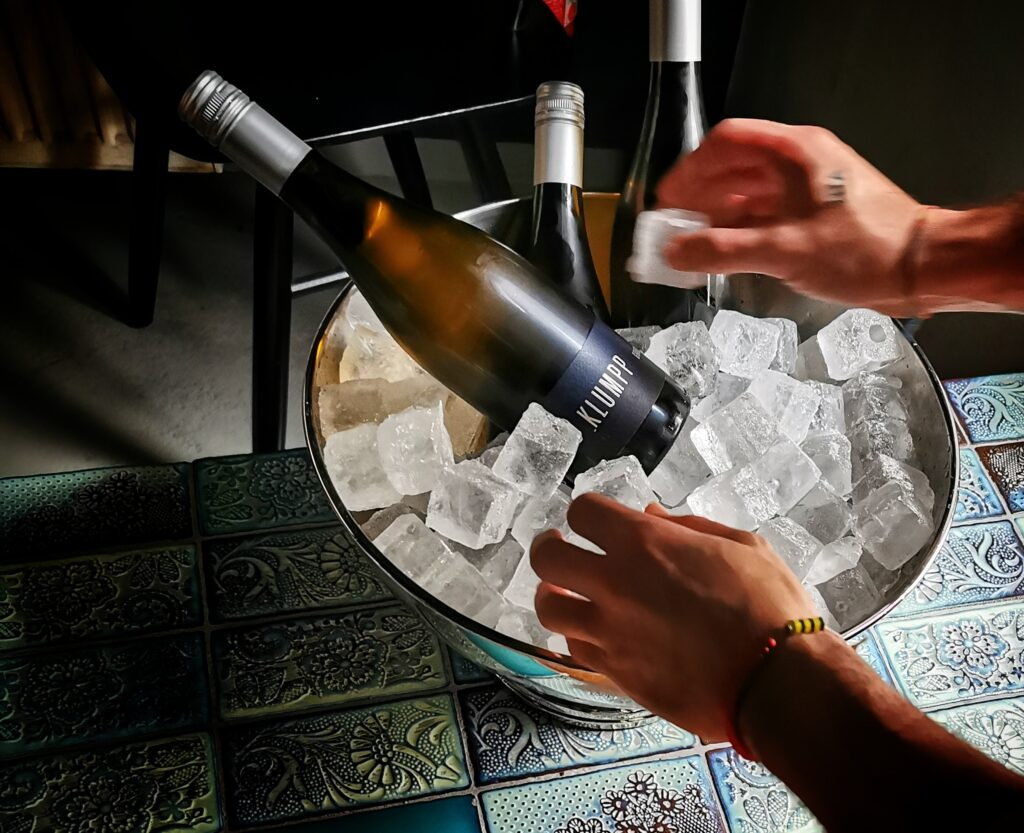 Does Adding Ice to Wine Make It Weaker?